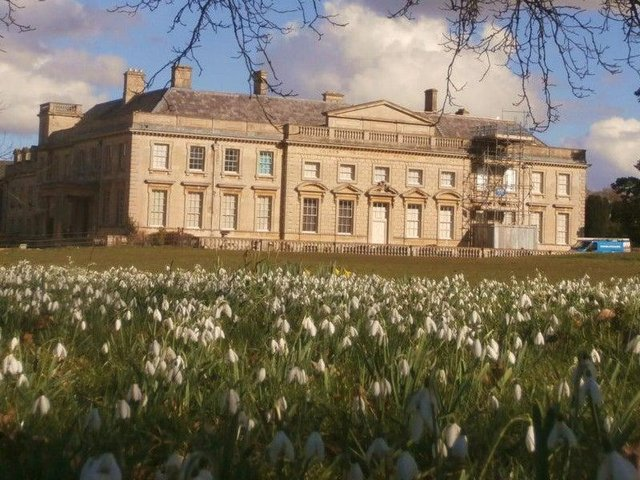 Lamport Hall has been the centre of social media backlash following a post asking musicians to work for free. (File picture).