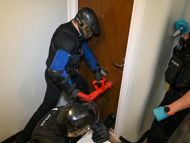 Op Revive raids have been carried out in Wellingborough in recent weeks