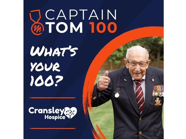 You can show your support for Cransley Hospice with this fundraiser