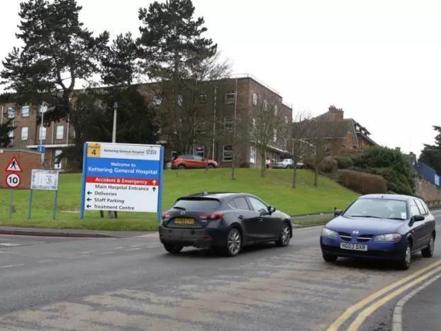 Kettering General Hospital.