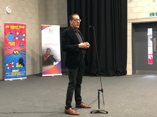 Nazir Afzal was the keynote speaker at the Corby conference
