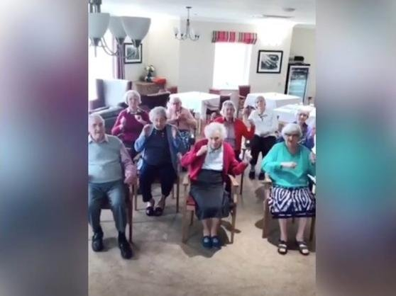 Westhill Park have been embracing Tik Tok and teaching residents trending dances