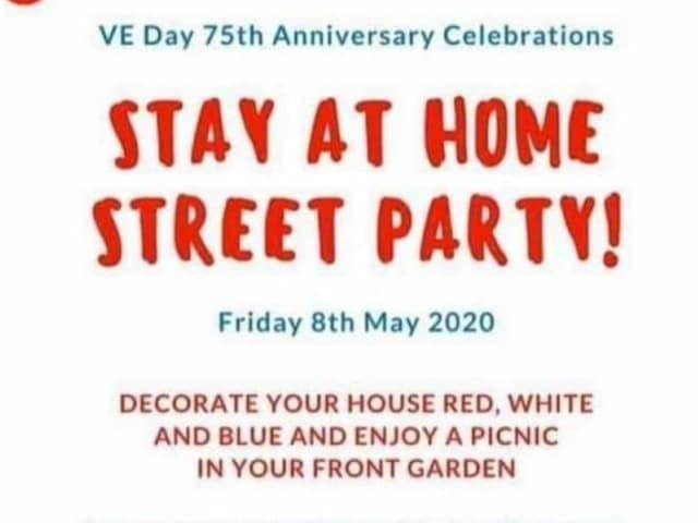 No need to leave home as all the VE Day celebrations you need are ...