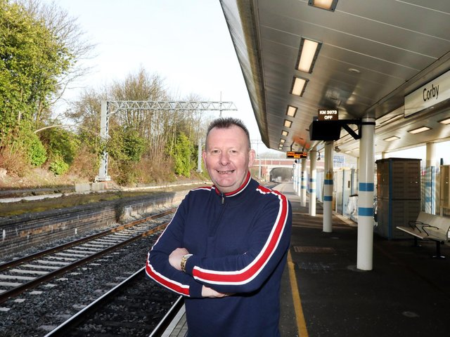 David Fursdon has been a rail campaigner in Corby for many years