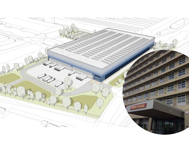 What the new scheme could look like. Image: Whittam Cox architects.