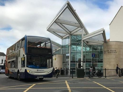 More buses will be running from Northampton's North Gate bus station from this weekend