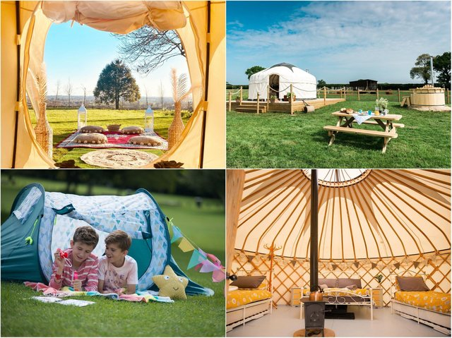 There are so many beautiful camping and glamping locations in and around Northamptonshire