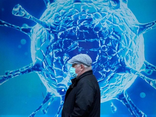 There were 402 coronavirus cases in Northamptonshire from March 29 to April 4 - a 30 per cent decrease compared to the previous week. Photo: Getty Images