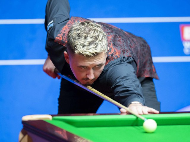 Kyren Wilson is heading to the Crucible as the World No.6. Picture courtesy of World Snooker Tour