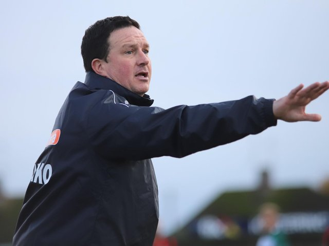 Kettering Town manager Paul Cox. Pictures by Peter Short
