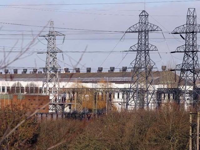 Corby's Tata steelworks. Image: JPI Media.