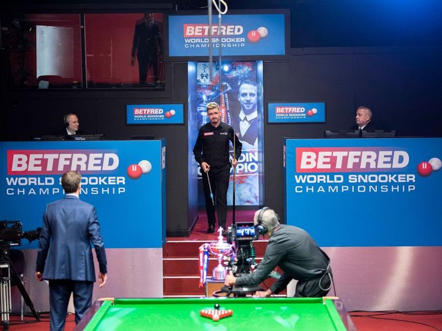 Kyren Wilson is looking forward to stepping into the grand stage of the Crucible again next week. Picture courtesy of World Snooker