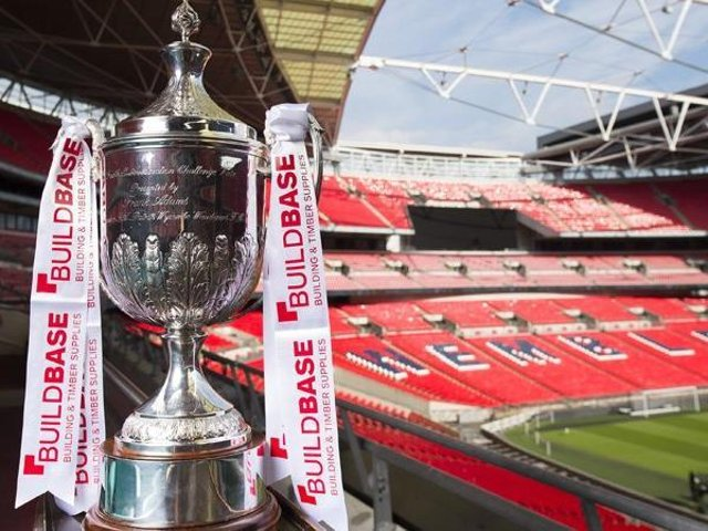 Wellingborough Town are dreaming of a day out at Wembley as they return to competitive action in the FA Vase this weekend