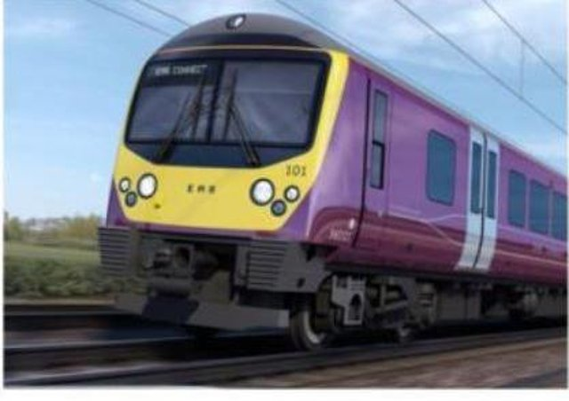 EMR Connect the new name for the electric trains from Corby, Kettering and Wellingborough to London