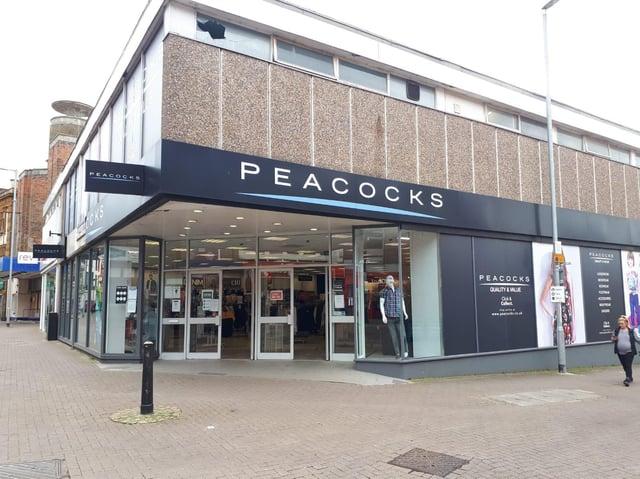 Peacocks in Kettering is back open.