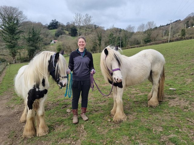 Ribble and Nidd with new owner Yvette Carlton