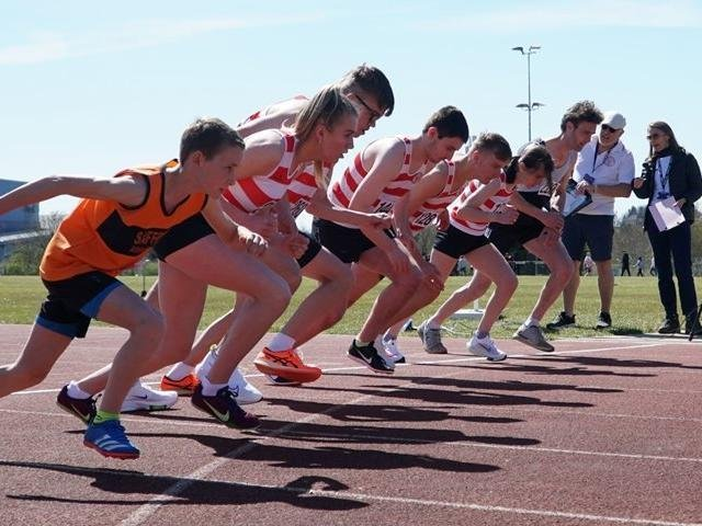 Kettering Town Harriers athletes were back on the start line for their annual April Open meeting