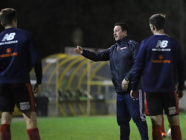 Paul Cox has held 'initial discussions' with players as Kettering Town start putting plans in place for next season. Picture by Peter Short