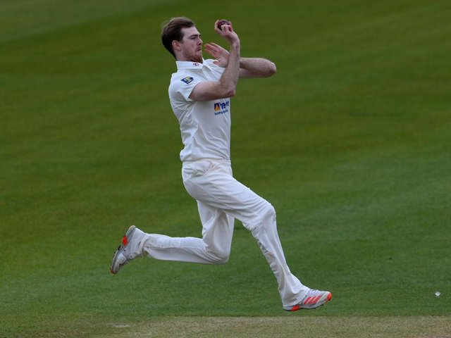 Tom Taylor is being rested for the County's current four-day clash with Glamorgan