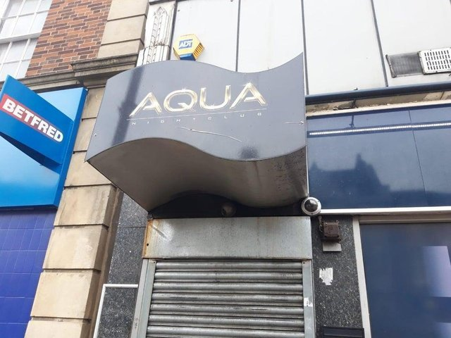 Aqua in Gold Street.
