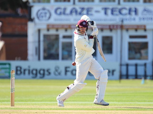 Rob Keogh hit his second century of the summer in the win over Glamorgan (Picture: Peter Short)