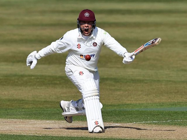 Skipper Adam Rossington will miss Northants' trip to Yorkshire this week
