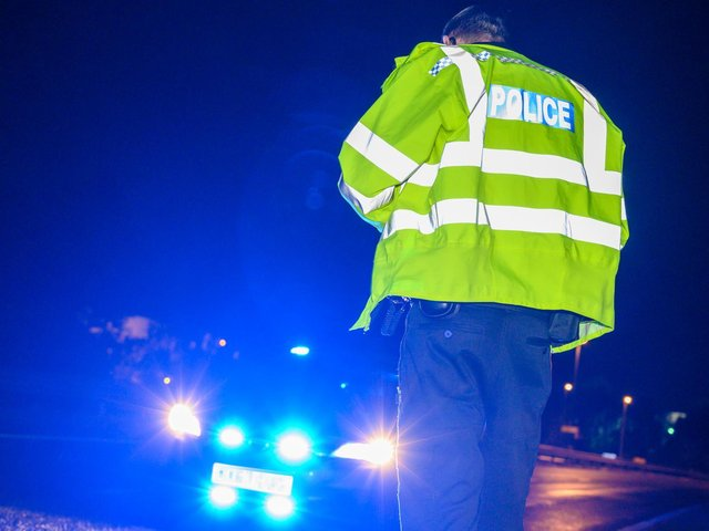 There has been a collision on the A43.