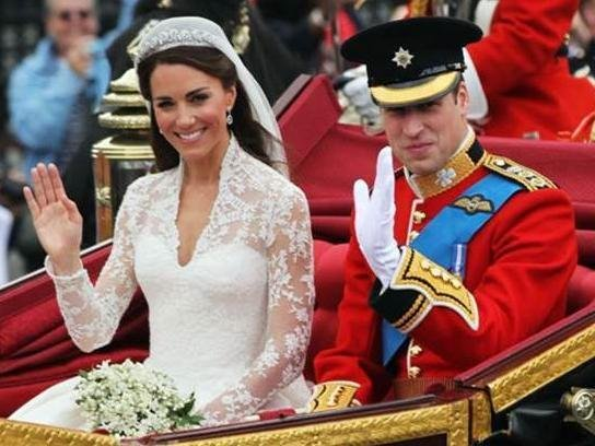 The giveaway is to celebrate the Duke and Duchess' 10th wedding anniversary