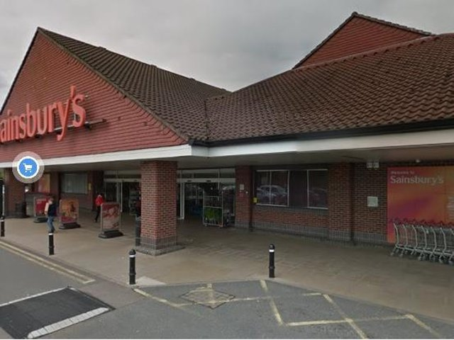 Sainsbury's in Wellingborough could be losing its cafe