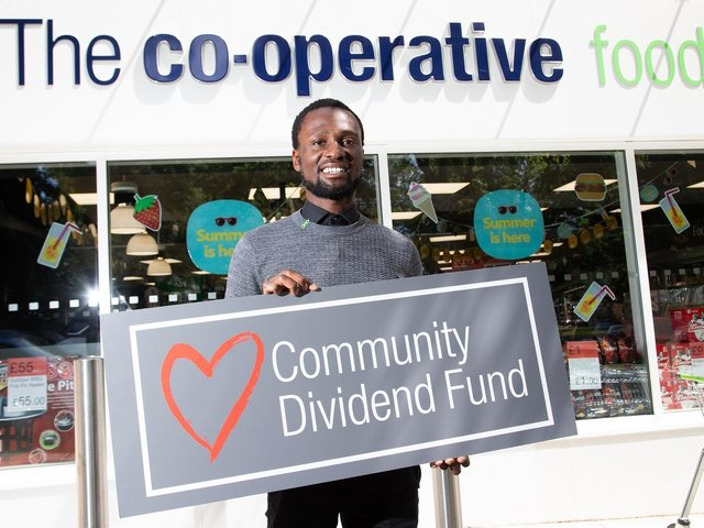 Rushden Sea Cadets have benefited from the Co-operative's community dividend scheme