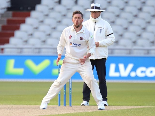 Simon Kerrigan is in the Northants squad to take on Yorkshire