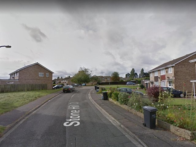 The attack took place outside a residence in Stone Hill Court, Northampton