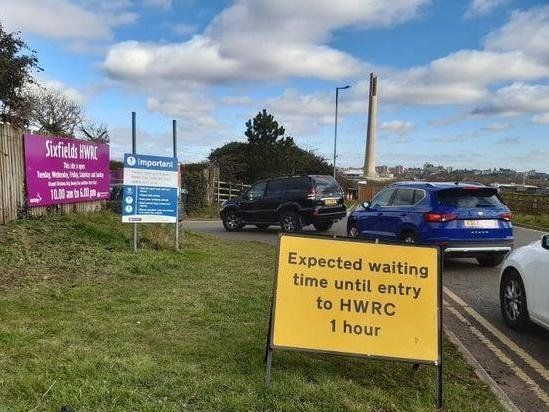 Sixfields Household Waste Recycling Centre