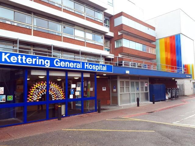 Kettering General Hospital - file picture