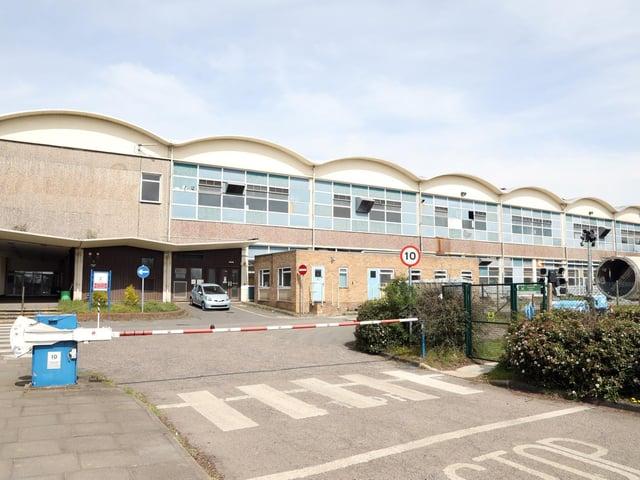 The former Weetabix factory in Earlstrees Road. Image: JPI Media.