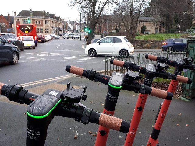 Voi scooters are now available in Rushden, Higham, Kettering, Corby, Wellingborough and Northampton