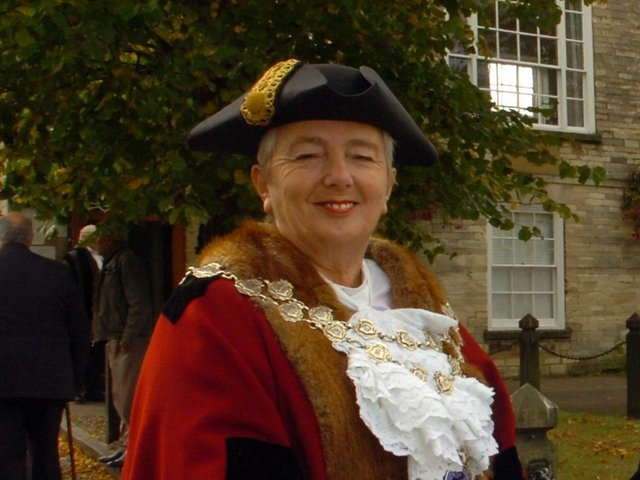 Cllr Anna Sauntson pictured in 2009