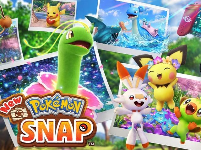 New Pokemon Snap on Nintendo Switch