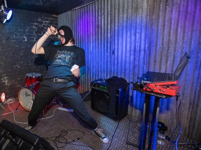 Nailbreaker performing at The Garibaldi in 2019. Photo by David Jackson.