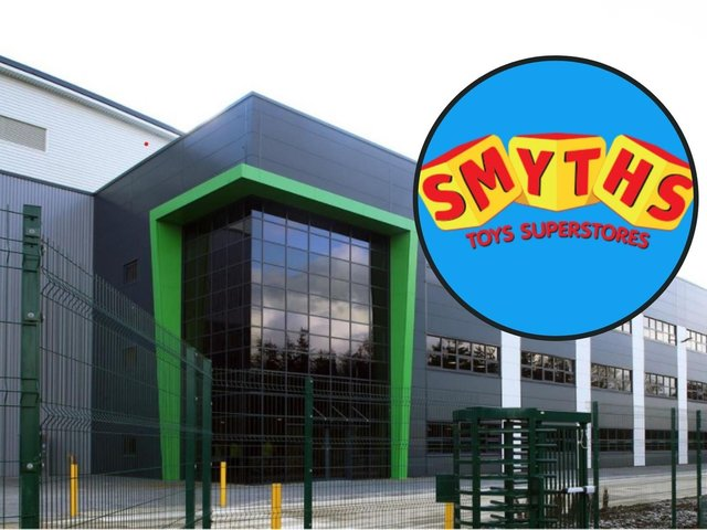 Smyths are opening a second Corby warehouse on the Midlands Logistics Park