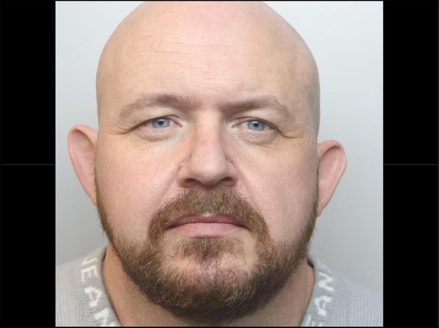Con man Myles Carter was jailed for five years and eight months at Northampton Crown Court
