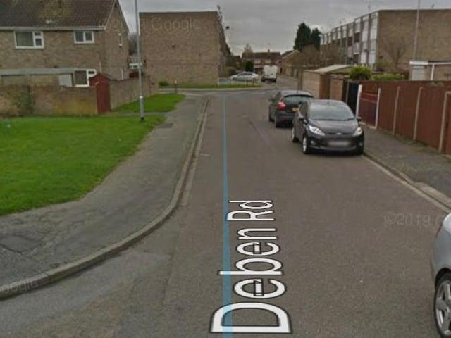 The incident happened in Deben Road