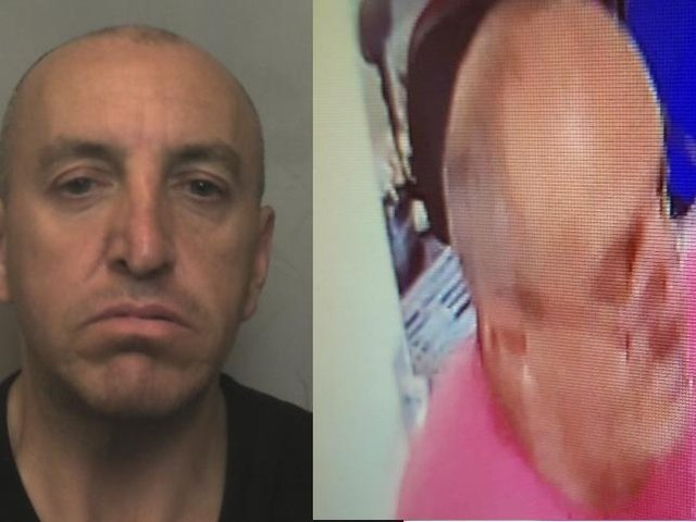 Police have released these two images of Anthony Rainbow as they appeal for help in finding him