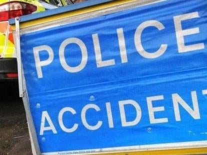 Police are dealing with a rush-hour smash causing queues at Chowns Mill roundabout