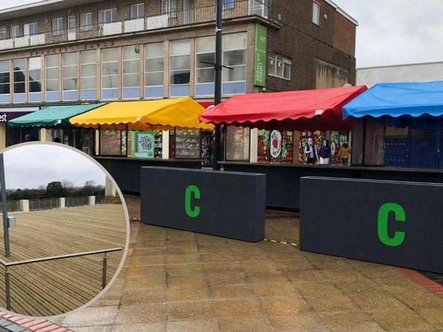 Corby's new market stalls