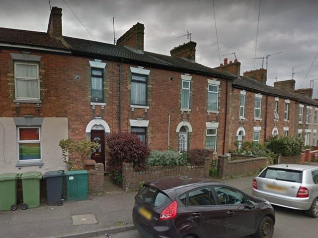 Firefighters were called to the blaze in Mill Road, Wellingborough