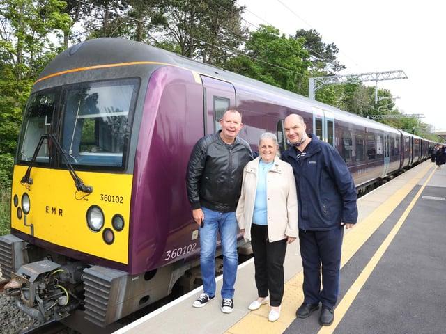 David Fursdon, Betty Wade, Donald Oliver - Rail campaigners