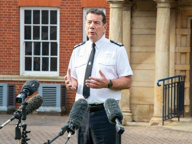 Chief Constable of Northamptonshire Police, Nick Adderley.