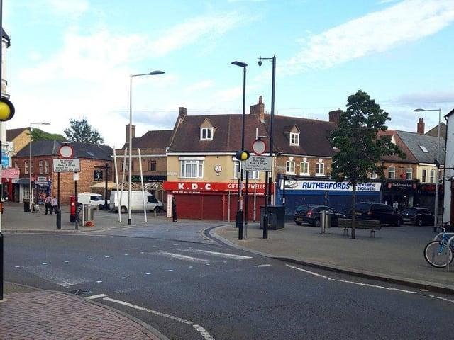 The Wellingborough bus gate.
