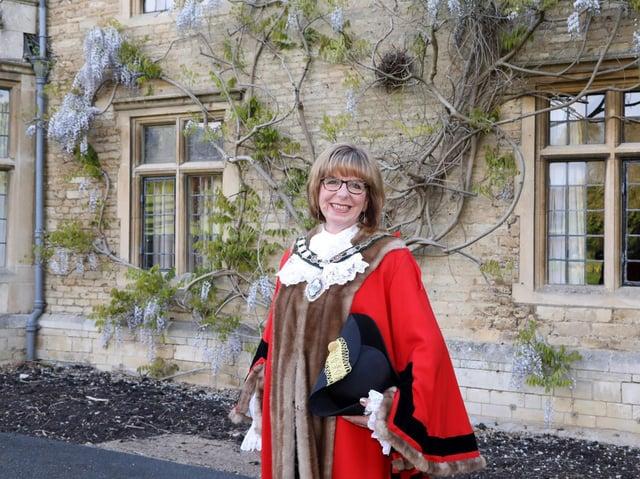 Cllr Melanie Coleman has been re-elected as mayor of Rushden